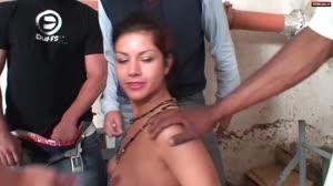 Sexfilm - Bukake voor een straathoer